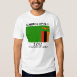 Zambia Chipolopolo African Champs Tee Shirts