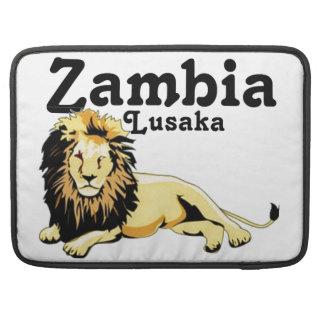 Zambia del personalizado de Africankoko Fundas Para Macbooks