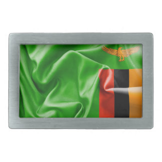 Zambia Flag Belt Buckle