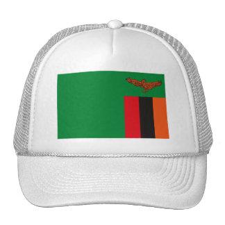 Zambia Flag Hat