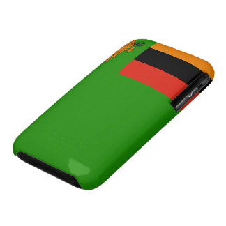 Zambia Flag iPhone 3 Case