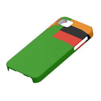 Zambia Flag iPhone SE/5/5s Case