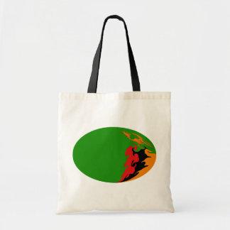 Zambia Gnarly Flag Bag