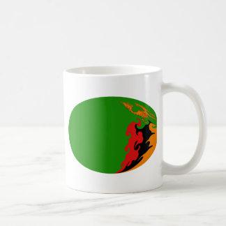 Zambia Gnarly Flag Mug