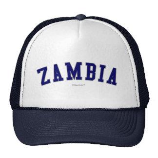 Zambia Gorros Bordados