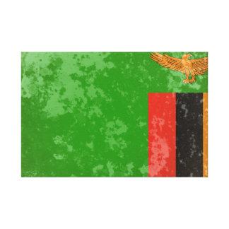 Zambia Impresion En Lona