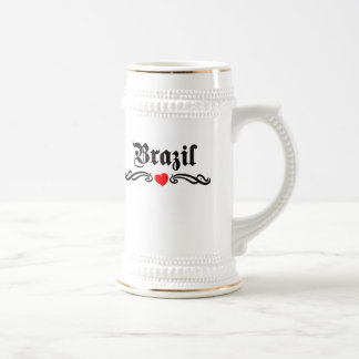 Zambia Tattoo Style Beer Stein