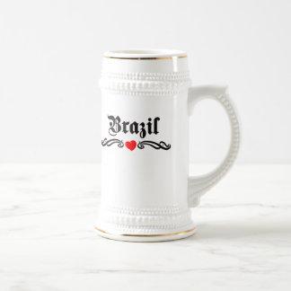 Zambia Tattoo Style Beer Stein