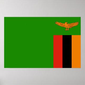 Zambia – Zambian Flag Poster