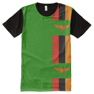 Zambian flag All-Over print t-shirt