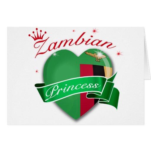 Zambian Princess Design Card