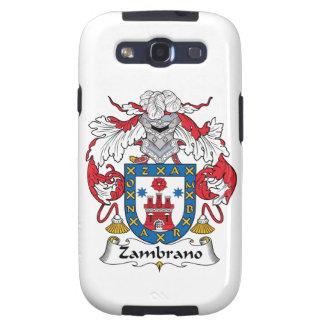 Zambrano Family Crest Galaxy S3 Cover