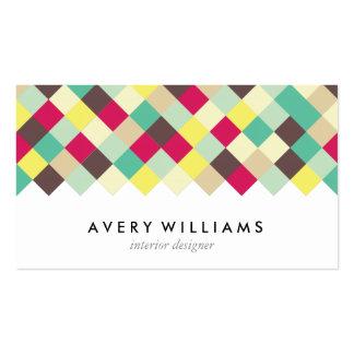 Zambúllase en color tarjetas de visita