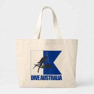 Zambullida Australia Bolsa Tela Grande