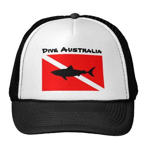 Zambullida Australia Gorro
