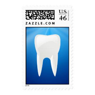Zambullida azul dental u oficina del dentista