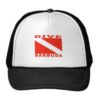Zambullida Barbuda Gorra