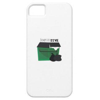 Zambullida del contenedor iPhone 5 fundas