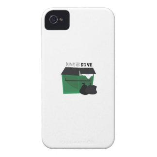 Zambullida del contenedor iPhone 4 protector