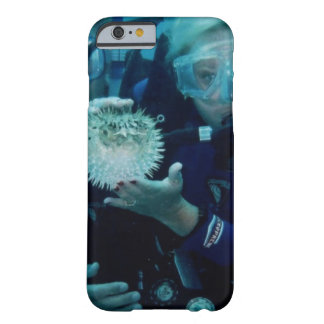 Zambullida del equipo de submarinismo funda para iPhone 6 barely there