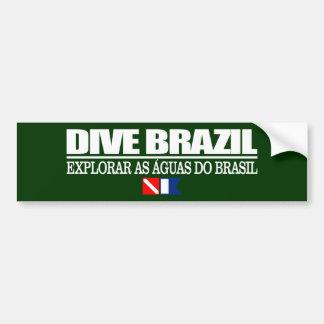 Zambullida el Brasil Pegatina Para Auto