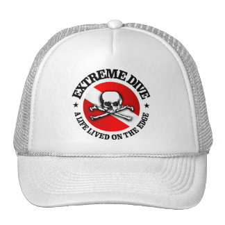 Zambullida extrema (cráneo) gorro