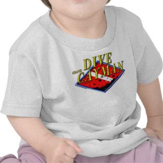 Zambullida Gran Caimán Camiseta