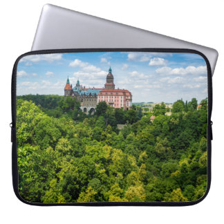 Zamek Ksiaz, Furstenstein In Poland Laptop Sleeve