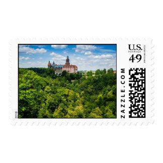 Zamek Ksiaz, Furstenstein In Poland Postage