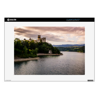 Zamek Niedzica, Castle By Sunset Lake Laptop Skin
