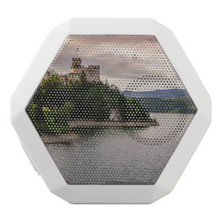 Zamek Niedzica, Castle By Sunset Lake White Bluetooth Speaker