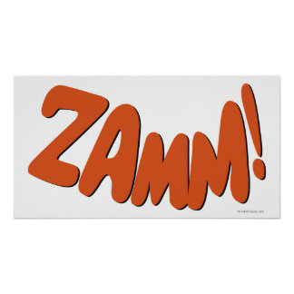 ¡ZAMM! PÓSTER
