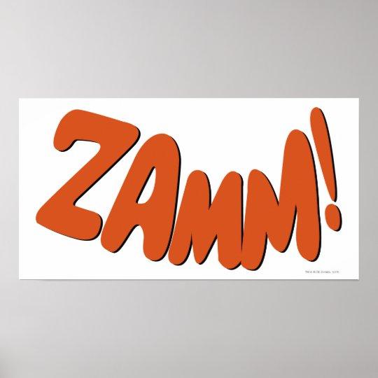 ZAMM! POSTER