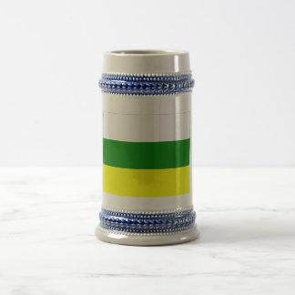 Zamora-Chinchipe flag Beer Stein