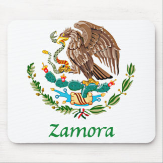 Zamora Mexican National Seal Mouse Pad