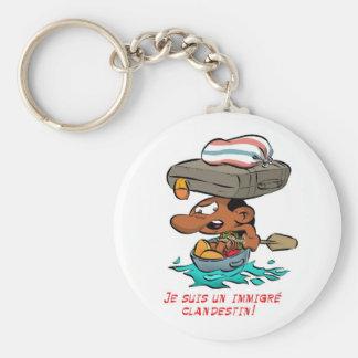 ZAMZAM porte- clef(Immigré clandestin) Keychains