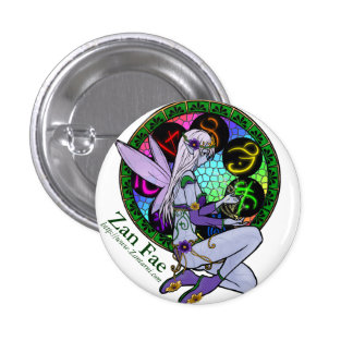 Zan Fae (#5) Pinback Button