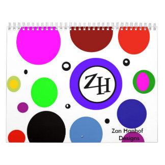 Zan Hanhof Original Artwork Calender! Calendar