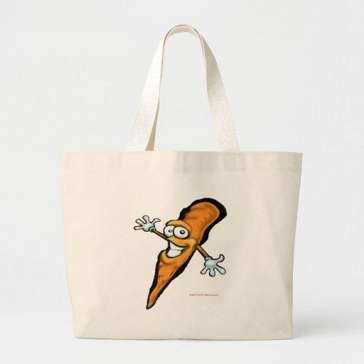 Zanahoria Bolsas Lienzo