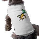 zanahoria camisa de perrito