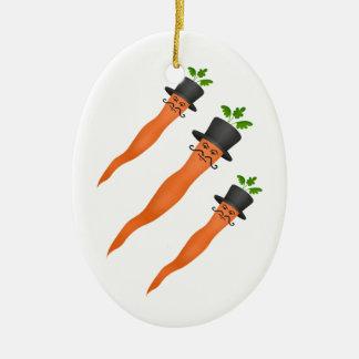 Zanahoria de lujo de hombres con un bigote del ornamentos para reyes magos