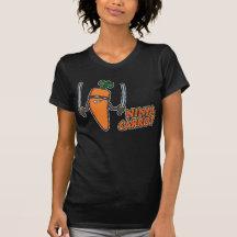 Zanahoria de Ninja Camiseta