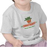 Zanahoria divertida camiseta