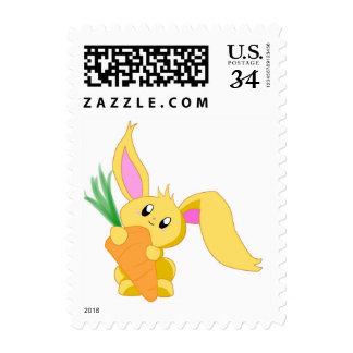 Zanahoria el sello del conejito