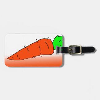 Zanahoria Etiquetas De Maletas