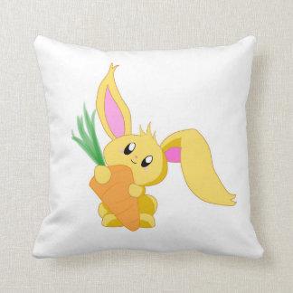 Zanahoria la almohada del conejito