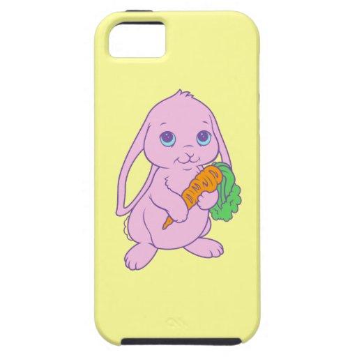Zanahoria linda del conejo de conejito del dibujo  iPhone 5 Case-Mate carcasas