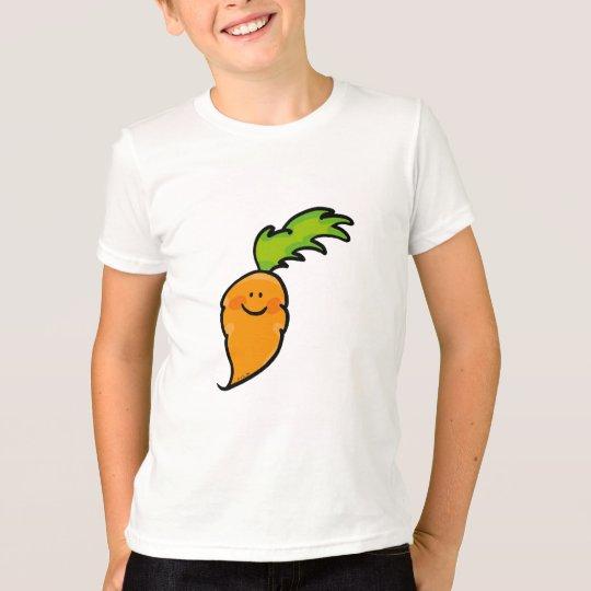 Zanahoria linda playera