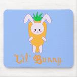 Zanahoria Mouspad de Lil'Bunny Tapetes De Ratones