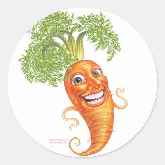 zanahoria pegatinas